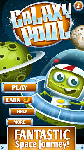 Galaxy Pool physics game