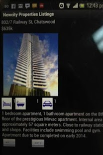 New City Properties App- screenshot thumbnail