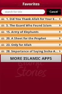 Islamic Stories For Muslims - screenshot thumbnail