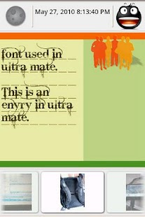 Ultra Mate Journal fonts 3 - screenshot thumbnail