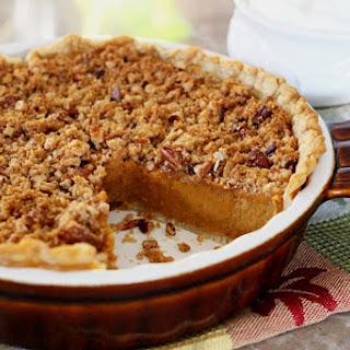 Sweet Potato Pie with a Pecan-Crunch Streusel