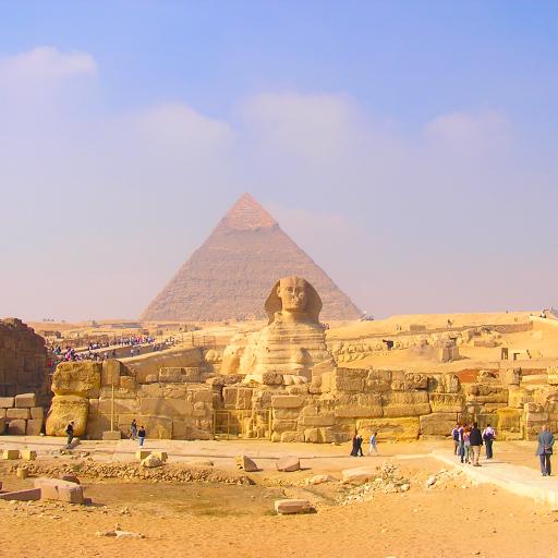 エジプト ピラミッド&スフィンクス(EG004) LOGO-APP點子