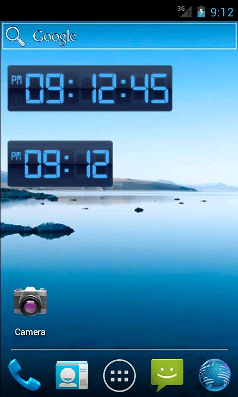 Digital Clock Widget - screenshot