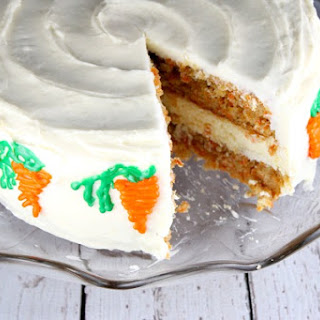 Carrot Cake Cheesecake Cake.