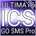 Purple ICS Free GO SMS Theme icon