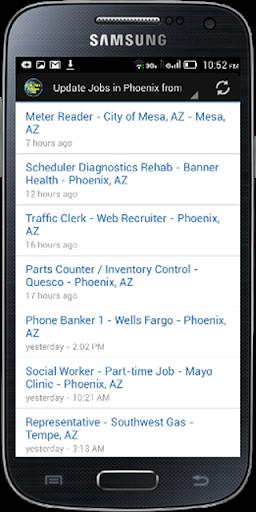 Phoenix AZ Jobs Search