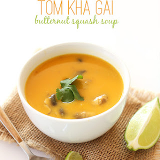 Tom Kha Gai Butternut Squash Soup