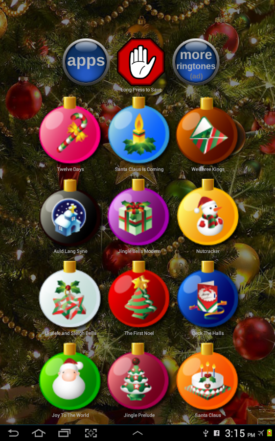Christmas Ringtones Free - screenshot