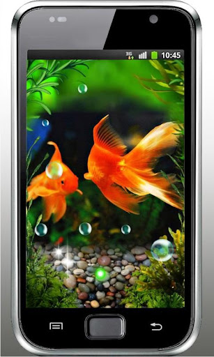 Aquarium Top live wallpaper