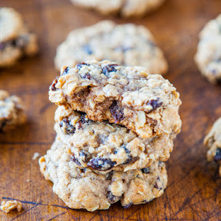 Soft and Chewy Oatmeal Scotchies Cookies