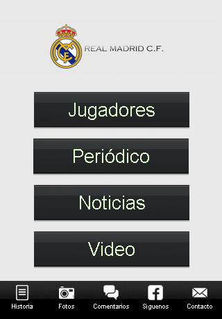 Real Madrid info