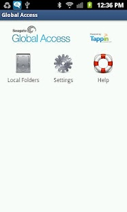 Seagate Global Access - μικρογραφία στιγμιότυπου οθόνης