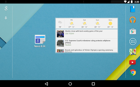Google News & Weather 2.3 screenshot 2410