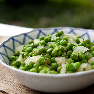 Simple Peas and Onions.