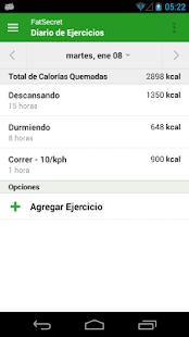 Contador de Calorías FatSecret - screenshot thumbnail
