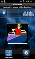 Screenshot of Radio Zona