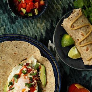 Huevos Rancheros Breakfast Burrito.