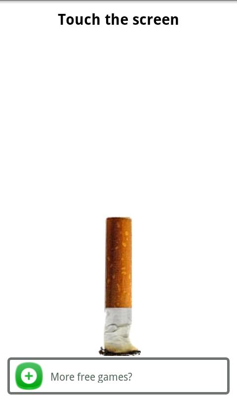 Virtual cigarette free - screenshot