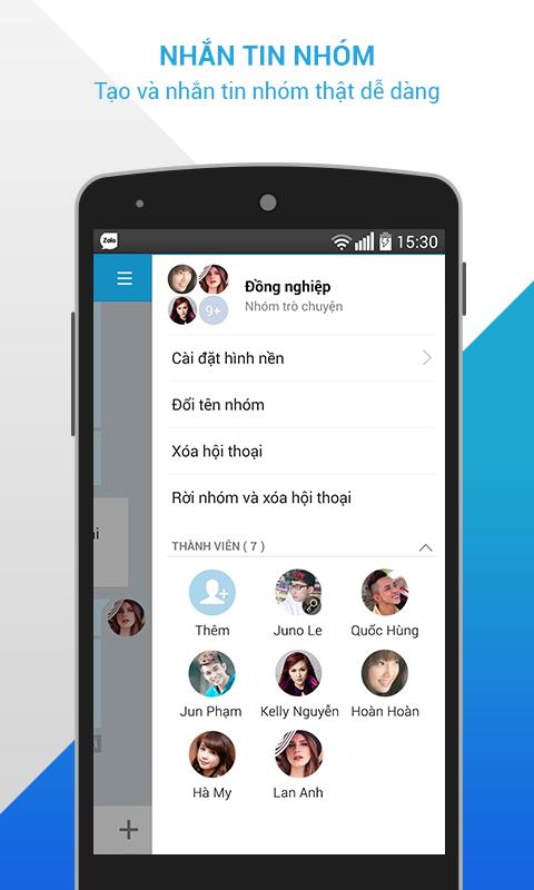 Zalo - Nhắn gửi yêu thương - screenshot