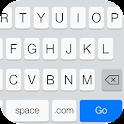 Emoji Keyboard-Emoticons,White icon