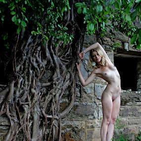 Pixie dust by Ruari Plint - Nudes & Boudoir Artistic Nude ( nude, nature, blond, fine art, pixie )