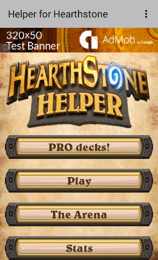 Helper for Hearthstone