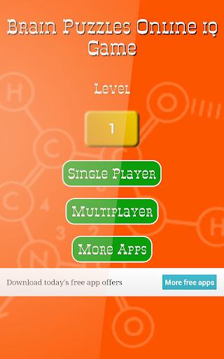 Brain Puzzles Online iq Game