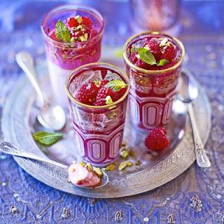 Rose Cream & Raspberry Jellies.