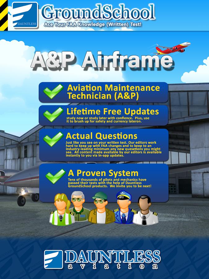 FAA A&P Airframe Test Prep - screenshot