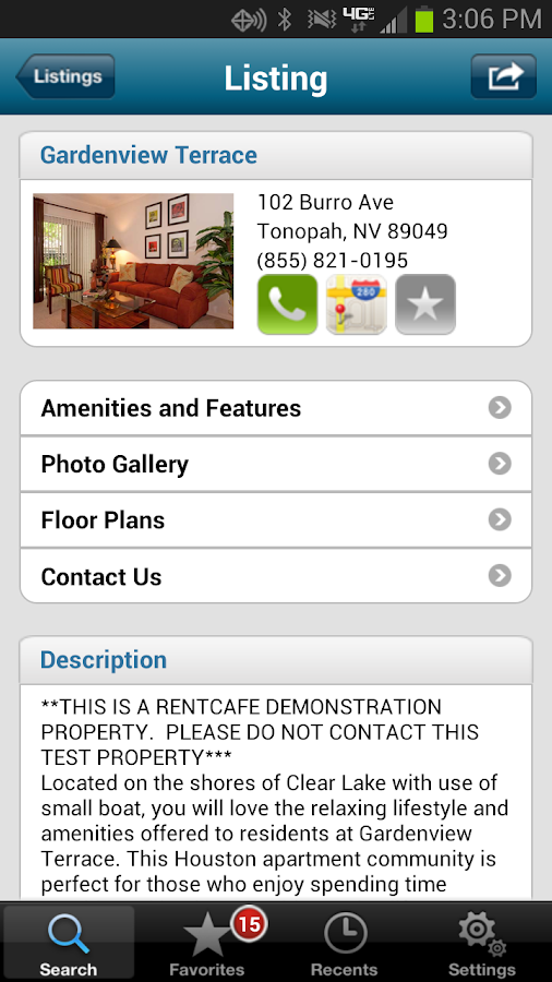 Apartment search by rentcaf android apps on google play for Apartment make ready board