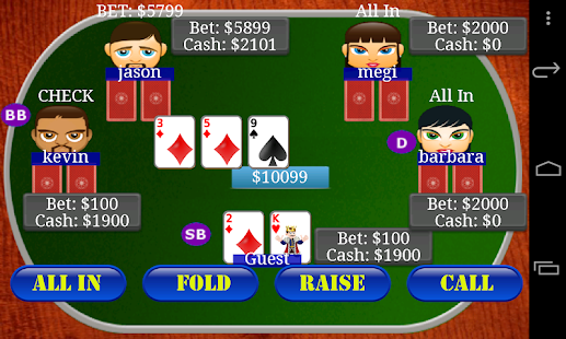 Texas Holdem Poker Bil- screenshot thumbnail
