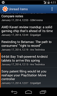 Aggregator | RSS News Reader - screenshot thumbnail