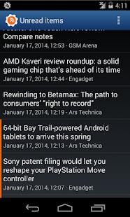 Aggregator | RSS News Reader - screenshot thumbnail