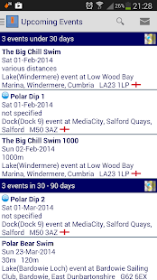 overtaQuatix OWS Event Finder- screenshot thumbnail