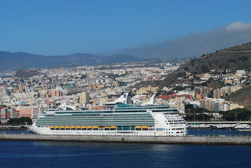 Navigator-of-the-Seas-in-Tenerife - Navigator of the Seas in Tenerife, the largest and most populous island in Spain's Canary Islands.