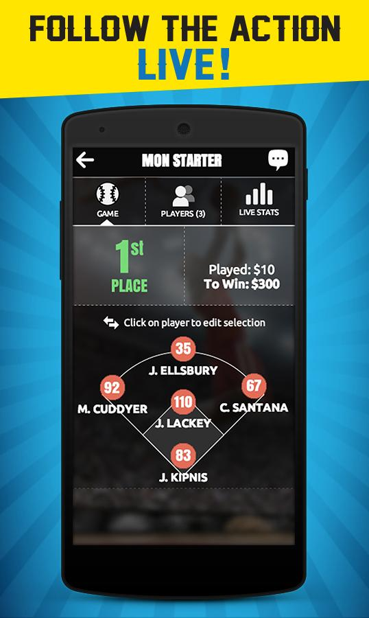 DraftHero-Daily Fantasy Sports - screenshot