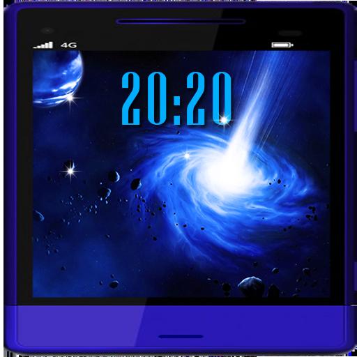 Space Deep live wallpaper 個人化 App LOGO-APP開箱王