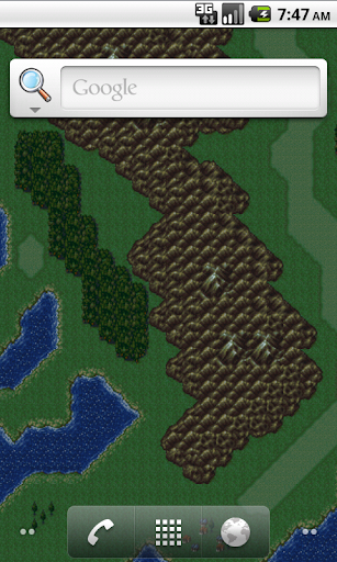 Final Fantasy VI Worldmap LWP