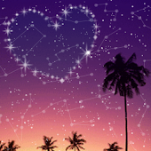 Heart In The Night Sky