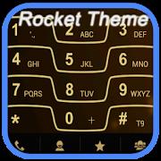 RocketDial Razr Gold Theme