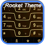 RocketDial Razr Gold Theme v2.0