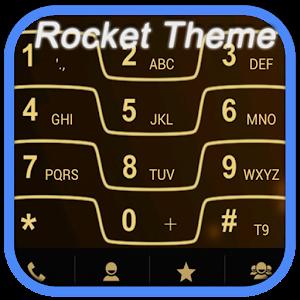 RocketDial Razr Gold Theme 通訊 App LOGO-硬是要APP