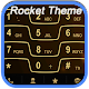 RocketDial Razr Gold Theme v2.0