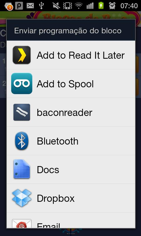 BlocoDroid 2011/2012 Edition - screenshot