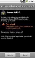Screenshot of Screen Off RT (Widget)