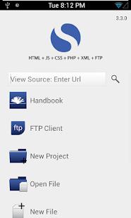 Spark - HTML Editor FTP