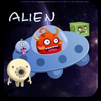 Alien GO LauncherEX Theme v1.0
