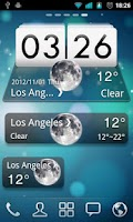 Screenshot of MIUI Style GO Weather EX