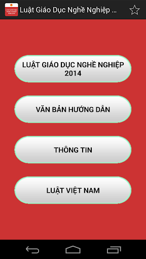 Luat Giao duc nghe nghiep 2014