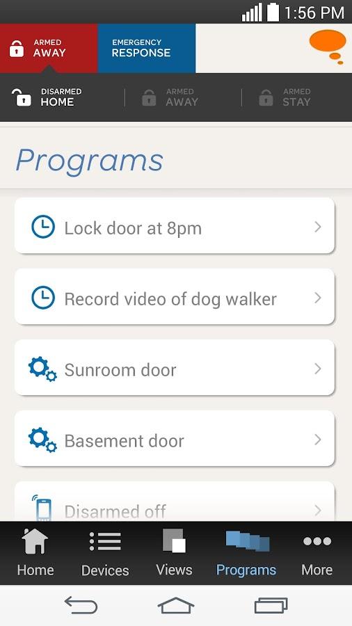 AT&T Digital Life - screenshot